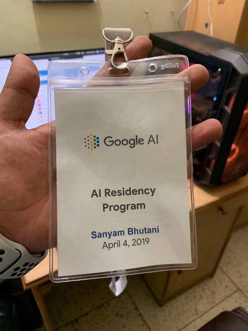 Interviewing for Google AI Residency, A Kaggle Gold Finish, DSNet Launch.